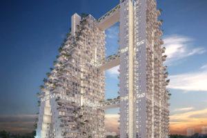 空が近い。空中ガーデンを味方につけたマンションデザイン